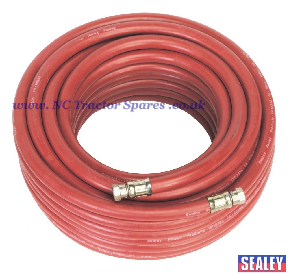 "Air Hose 20mtr x 10mm with 1/4""BSP Unions"
